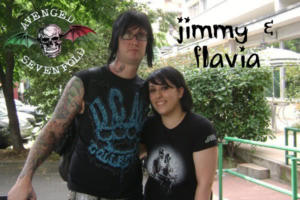 Fan italiani con The Rev