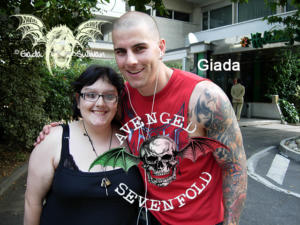 Fan italiani con M.Shadows